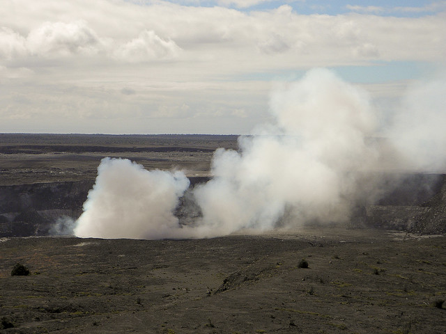 Halemaumau Crater at Hawaii Volcanoes National Park