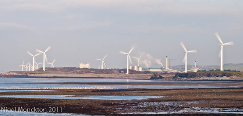 1000/647: 20 Nov 2011: Wind farm, Workington by nmonckton