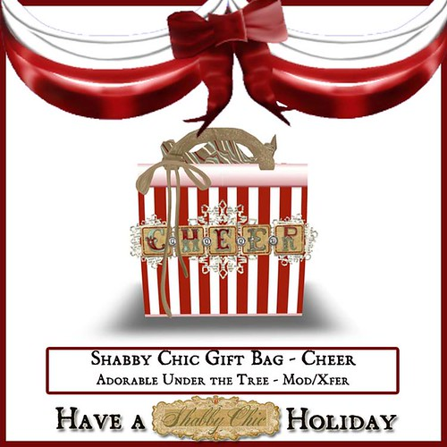 Shabby Chic Gift Bag - Cheer by Shabby Chics