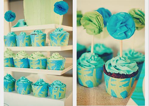 8.3 Turtlecraftygirl-Pom-Pom Cupcake Toppers