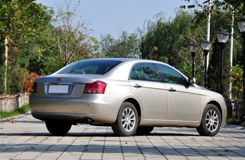 Geely Emgrand EC8 Review | Appearance