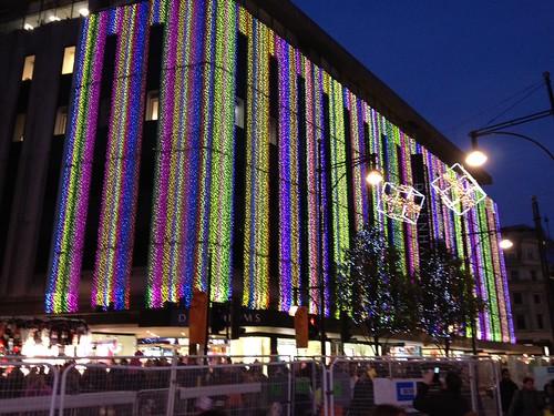 Debenham's Christmas Lights