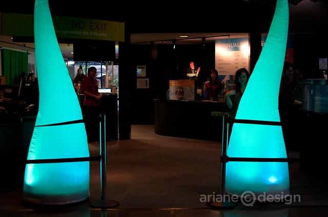 Vancouver Aquarium Luminescence entrance