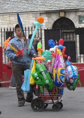 balloon man, chinatown