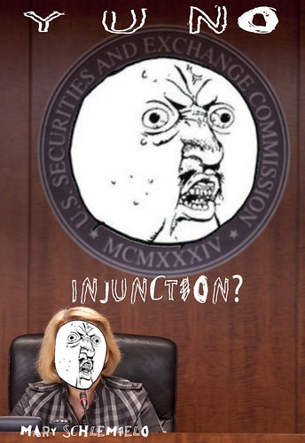 Y U NO INJUNCTION by Colonel Flick