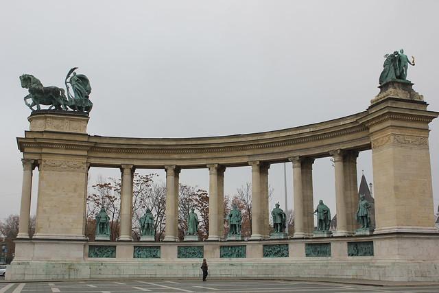Monumento del milenio en Hősök tere