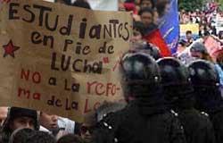 Colombia. Gli studenti insegnano: la lotta paga!
