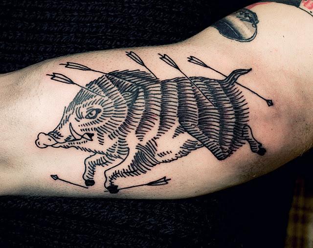 Ien Levin tattoo - 2