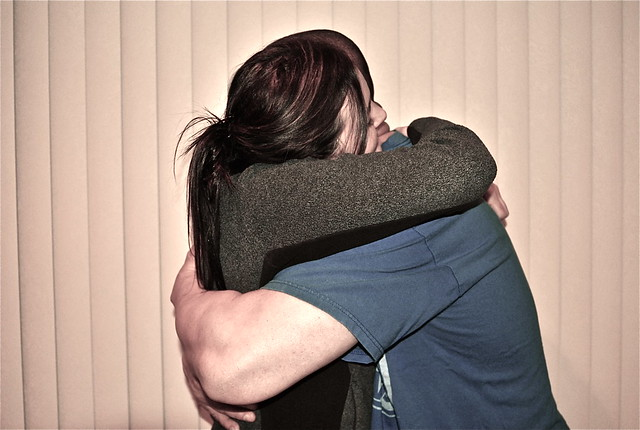 two people hugging | Flickr - Photo Sharing!