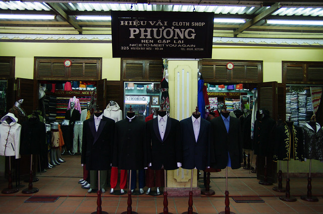 Endless tailoring possibilities in Hội An