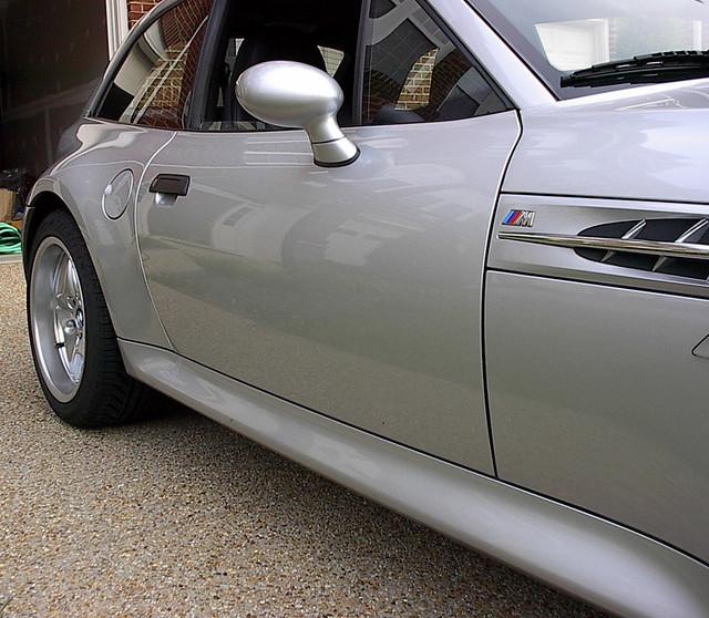 2000 z3M Coupe | Titanium Silver | Black