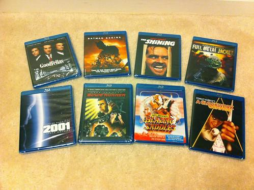 New Blu-rays