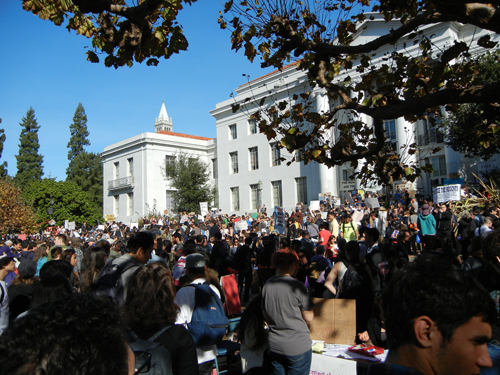 November 11, 2011 - Protest at Cal _ 7964
