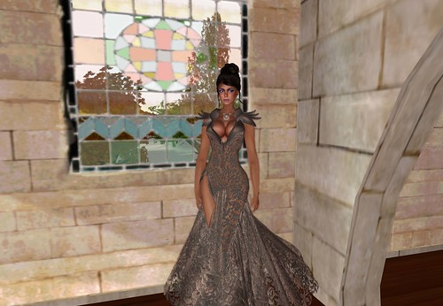 aDiva Couture Liquid Lace Gown (blogger package 1) by Cherokeeh Asteria