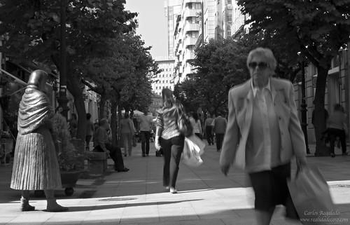 Rúa do Paseo by Carlos Regalado
