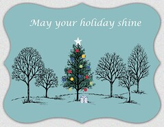 May Your Holiday Shine, a Christmas Card