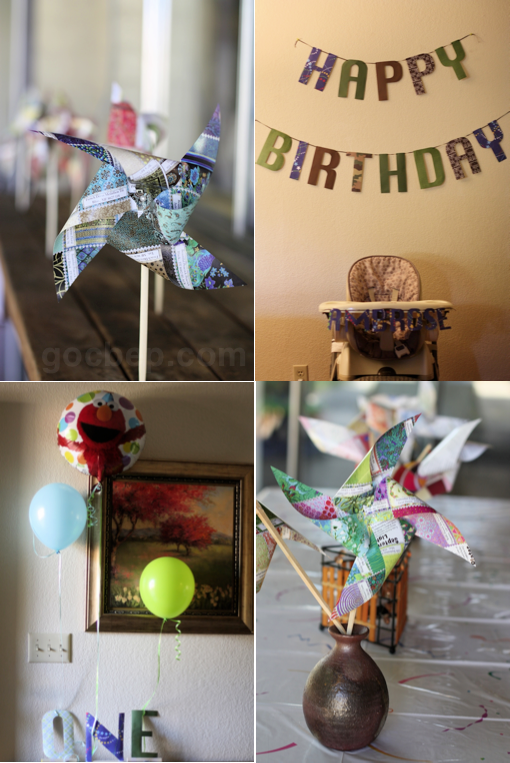 DIY birthday party