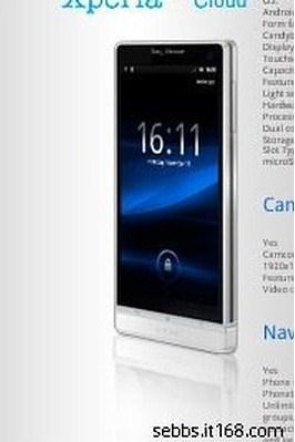 Sony Ericsson Nozomi_leaked