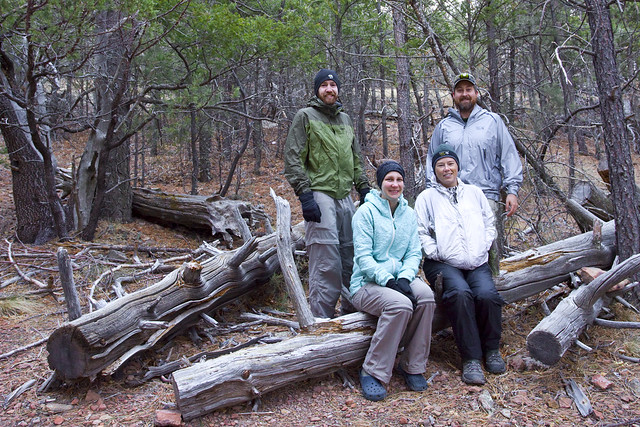 Group at McKittrick Ridge Campsite