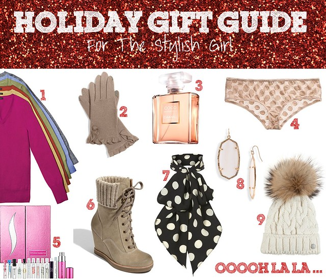 Holiday Gift Guide - Stylish Girl