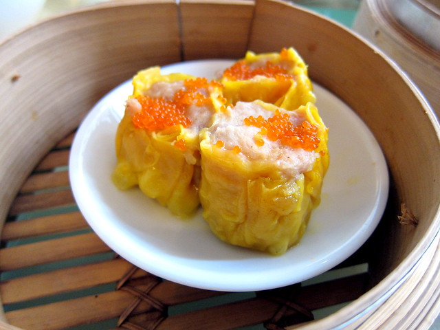 Chicken Siew Mai with Tobiko
