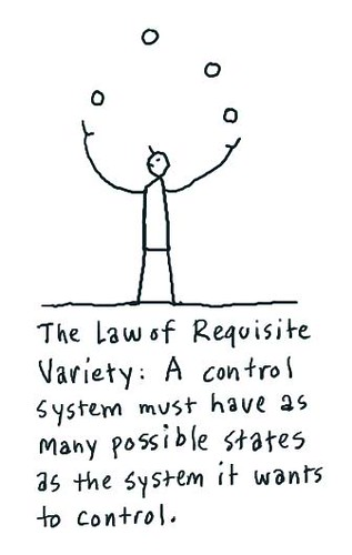 "How Much Is Insurance >> Fragile or Agile?:: the Law of Requisite Variety [Ashby's Law] | Get ""fit for randomness"" [with ..."