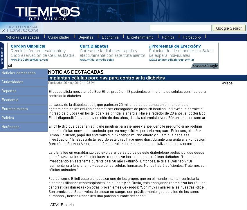 Site Tiempos del mundo 26-5-10