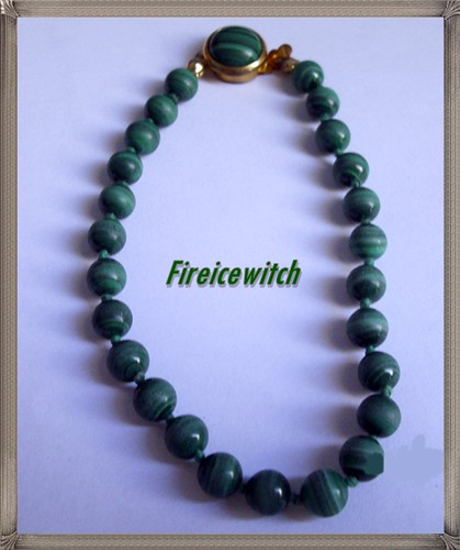 Pulsera Verde by fireicewitch