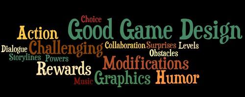 Good Game Design Elements