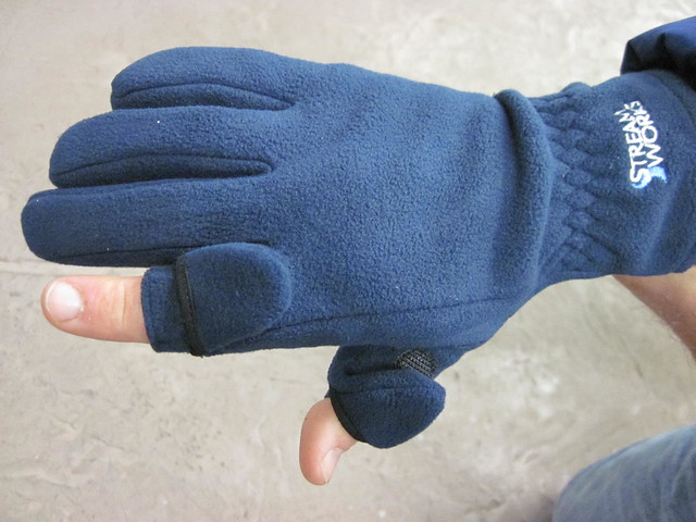 Dec 7th deal of the day streamworks arctic gloves the for Winter fishing gloves