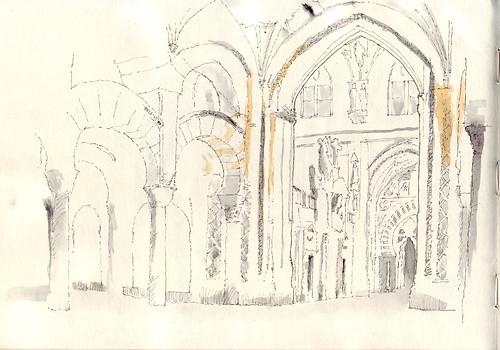 Mezquita-Catedral interior