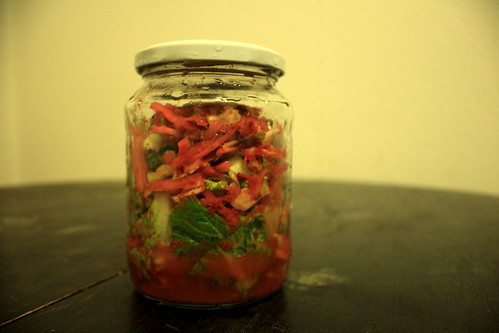 Super special partly home grown kimchi