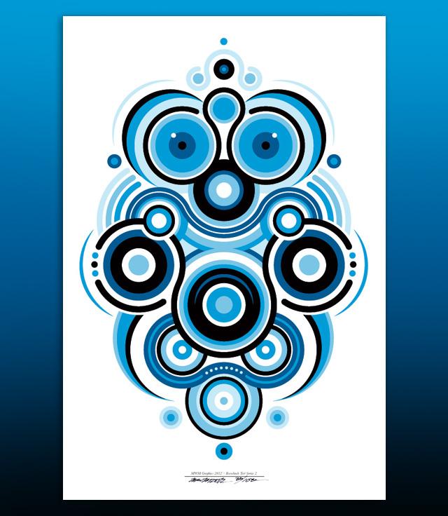 Vectorfunk Rorschach Poster Series.