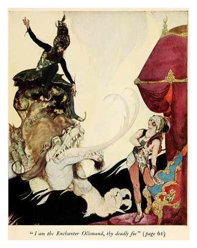 009-Tales of the Persian genii 1917-ilustrado por Willy Pogany