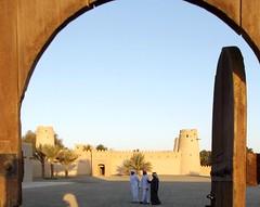 Al Jahili Fort gate