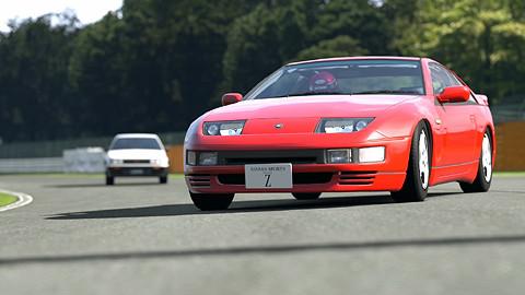 [GT5] 日産 Z32 フェアレディZ リセッティング 筑波サーキット