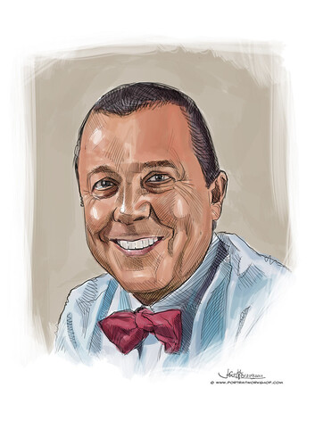 digital portrait of Patrick Fiat