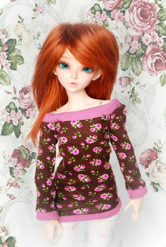 Rosebud Minifee Top