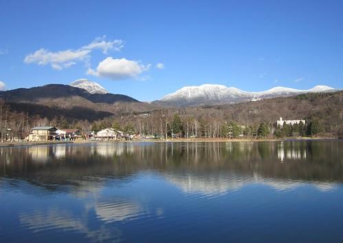 蓼科湖、北八ヶ岳、蓼科山 2011年12月12日14:27 by Poran111