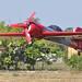 Sukhoi landing after a contest flight