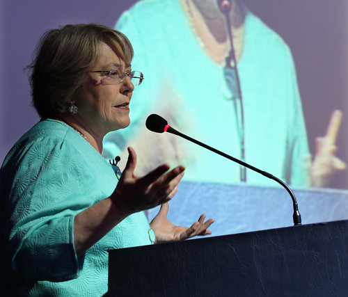 UN Women Executive Director Michelle Bachelet Speaks at the Women, Health and Development Conference, Paraguay