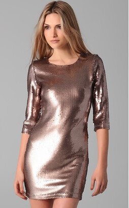 BB Dakota Metallic Dress