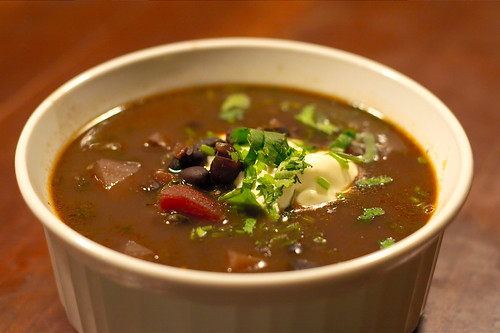 Black Bean Mexican Soup