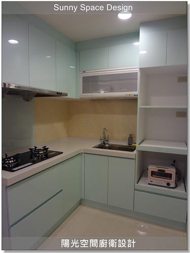 新莊中正路劉先生L型廚具-陽光空間廚衛設計24