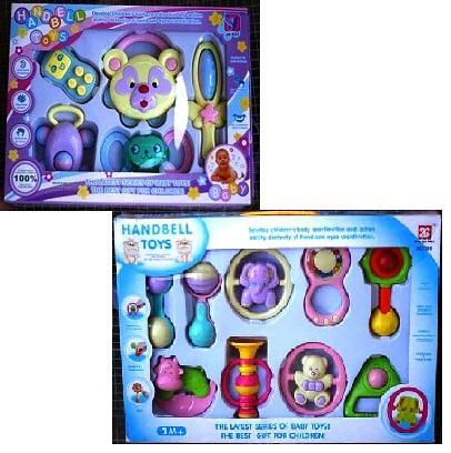 handbell toy rattle 1