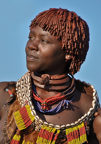 Hamar Tribe Woman The Hamar Are Cattle Herders And