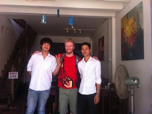 Seyla, Me and Chouert at Kinyei