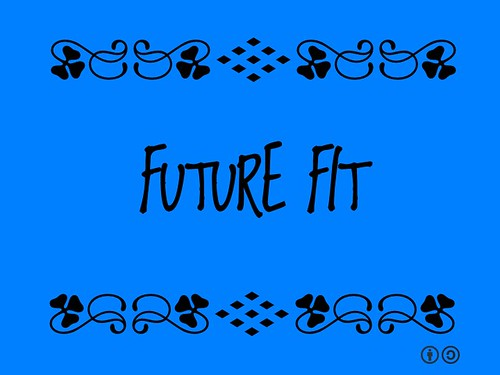 Buzzword Bingo: Future Fit = Leading change, not just about being comfortable with change Kudos @MariettedTH