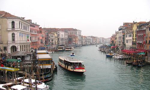 Vista general del Canal Grande