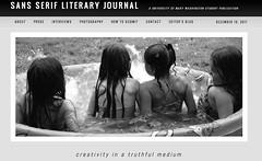 Sans Serif Literary Journal